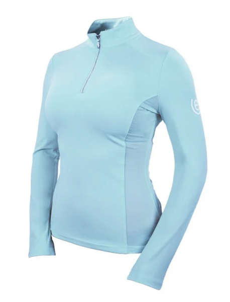 Equestrian Stockholm Vision Top Ice Blue